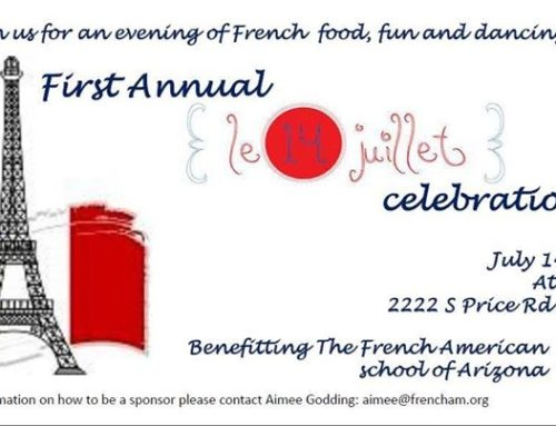 Join us for Bastille day!